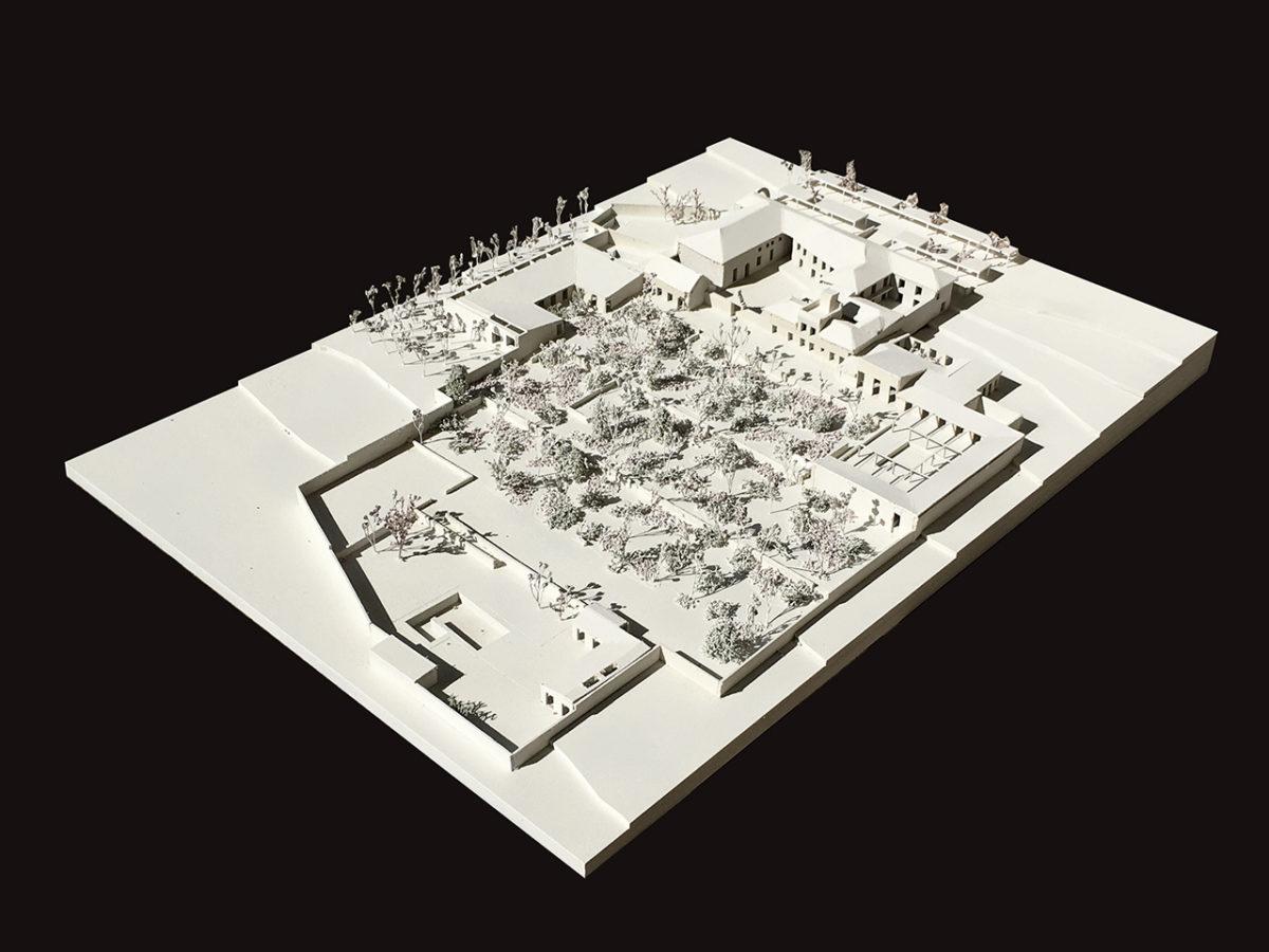 Model of hotel in Ronda