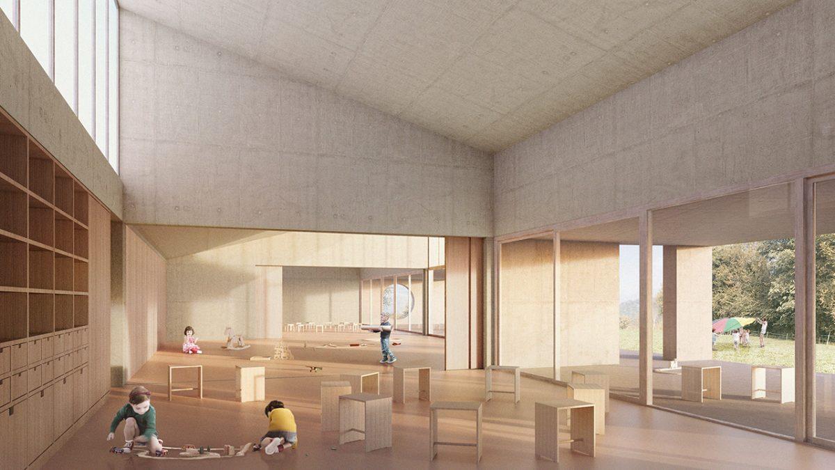 Lattecaldo nursery school interior view