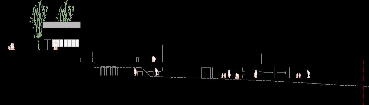 Lattecaldo nursery school cross section