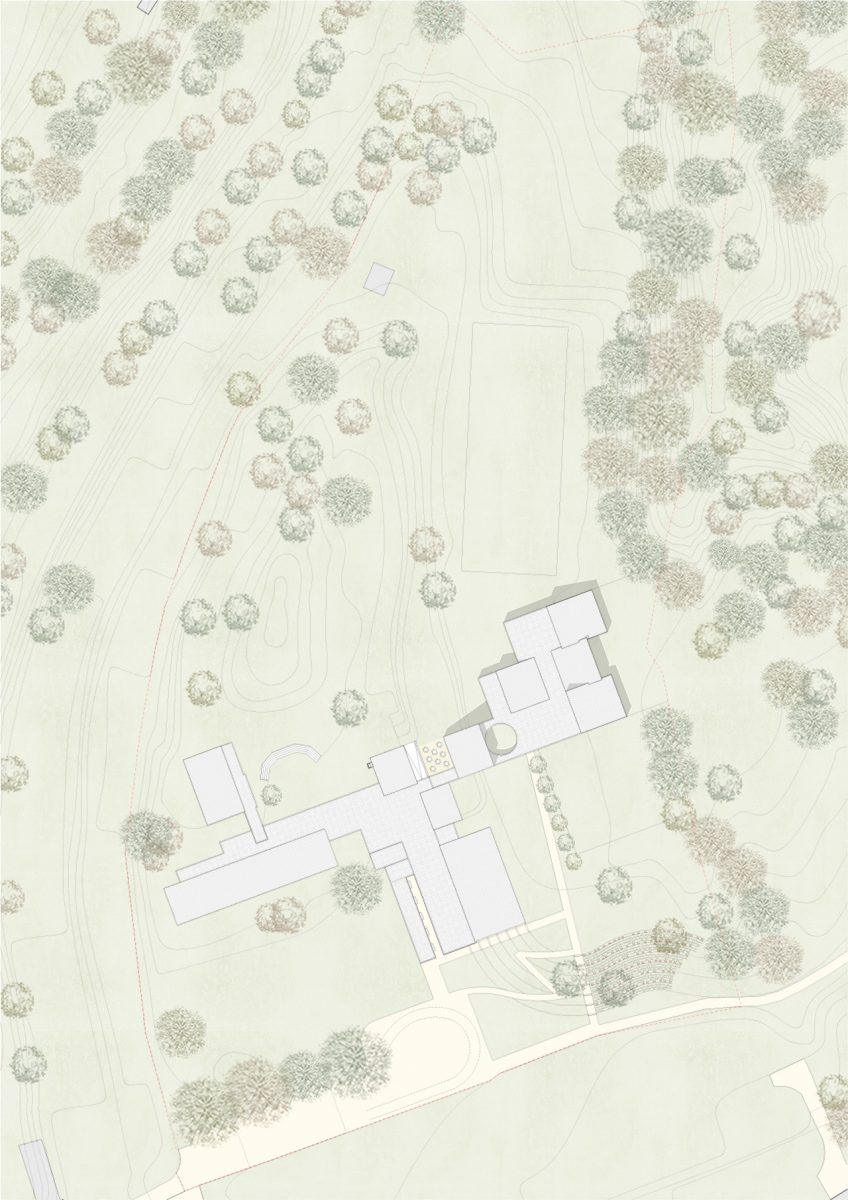 Lattecaldo nursery school site plan