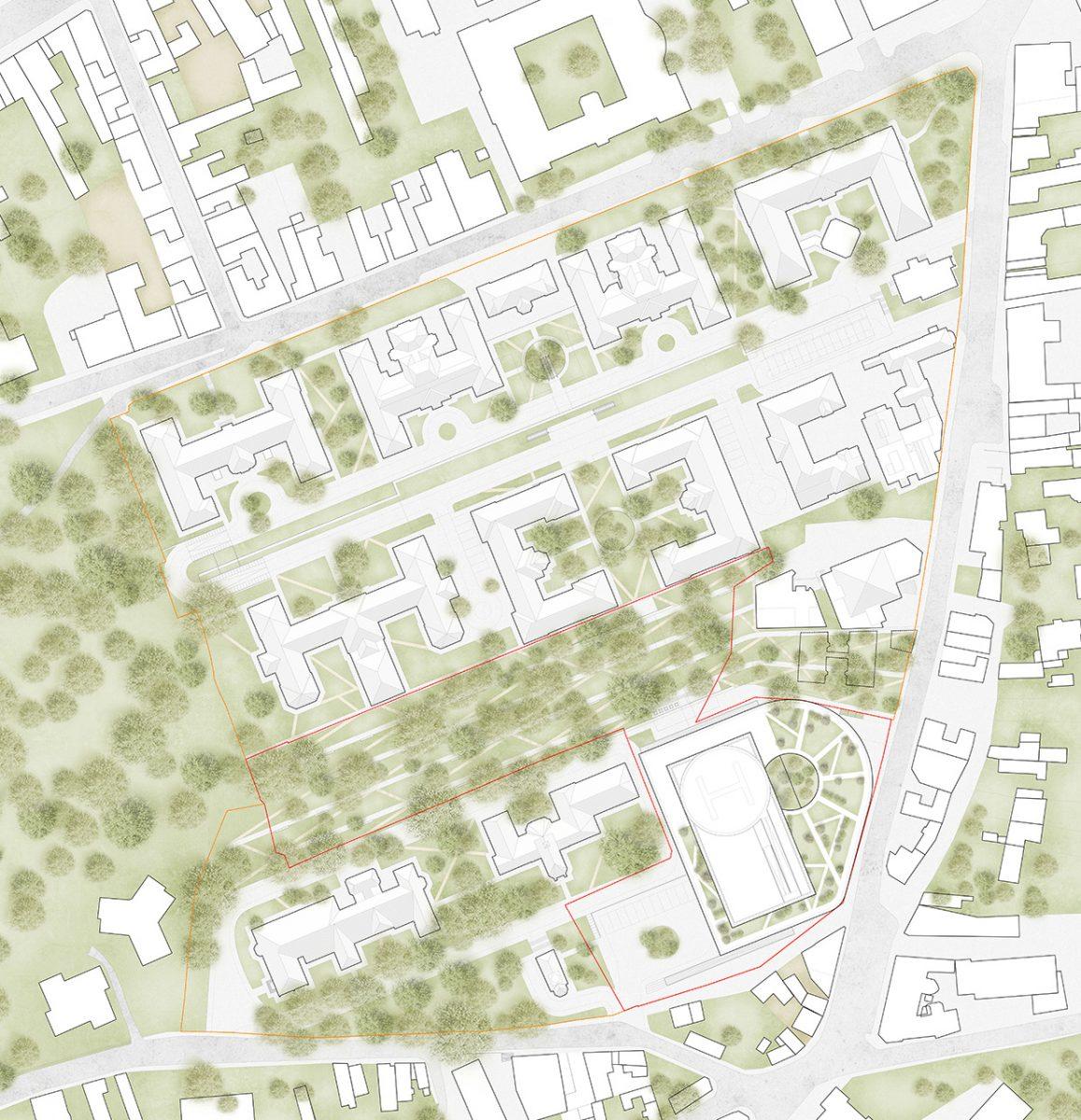 University Hospital Complex plan