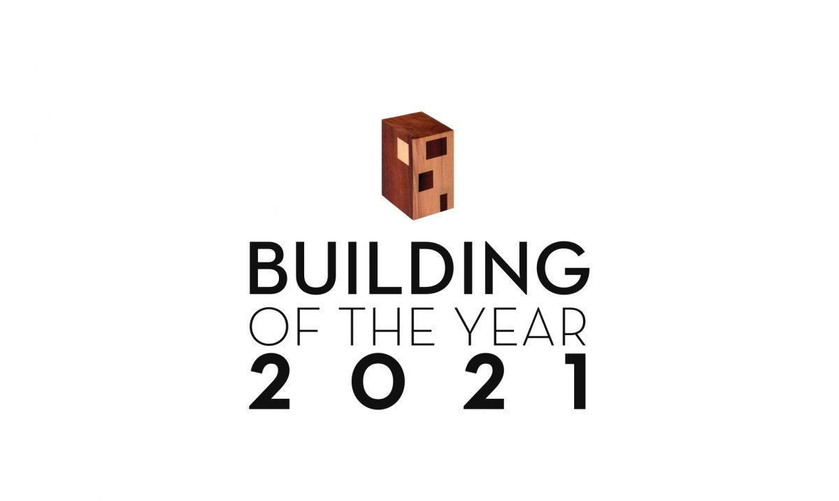 Building of the Year 2021 award logo