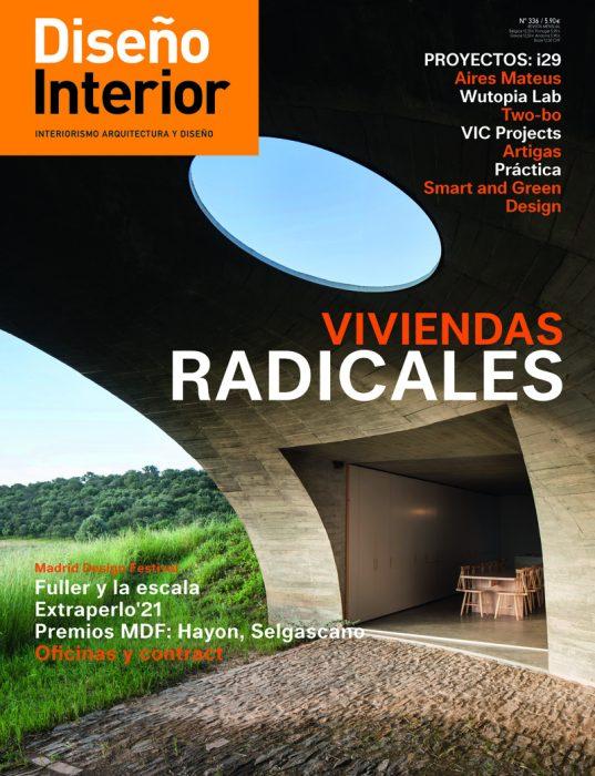 Diseño Interior 336 magazine cover