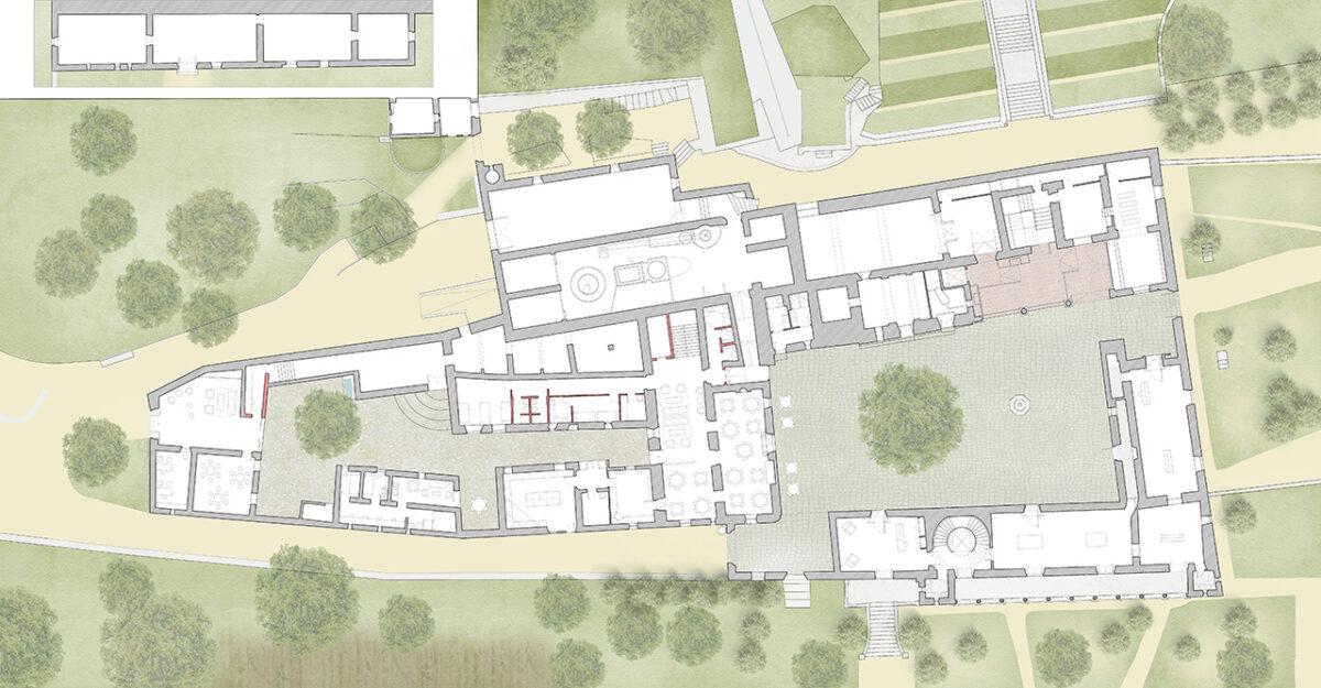 Raixa Estate ground floor plan
