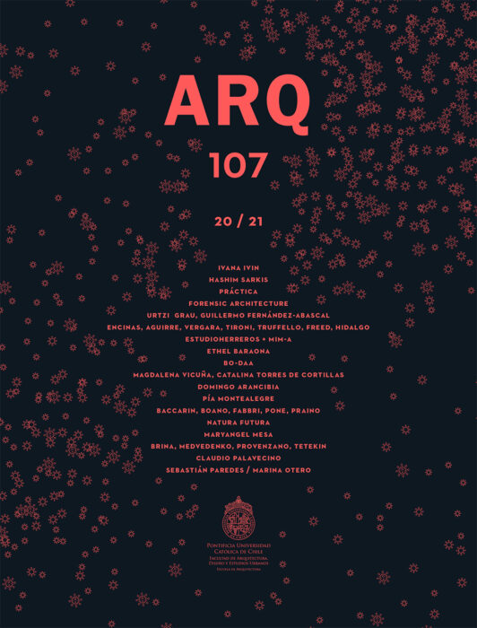 Cover of ARQ magazine issue number 107