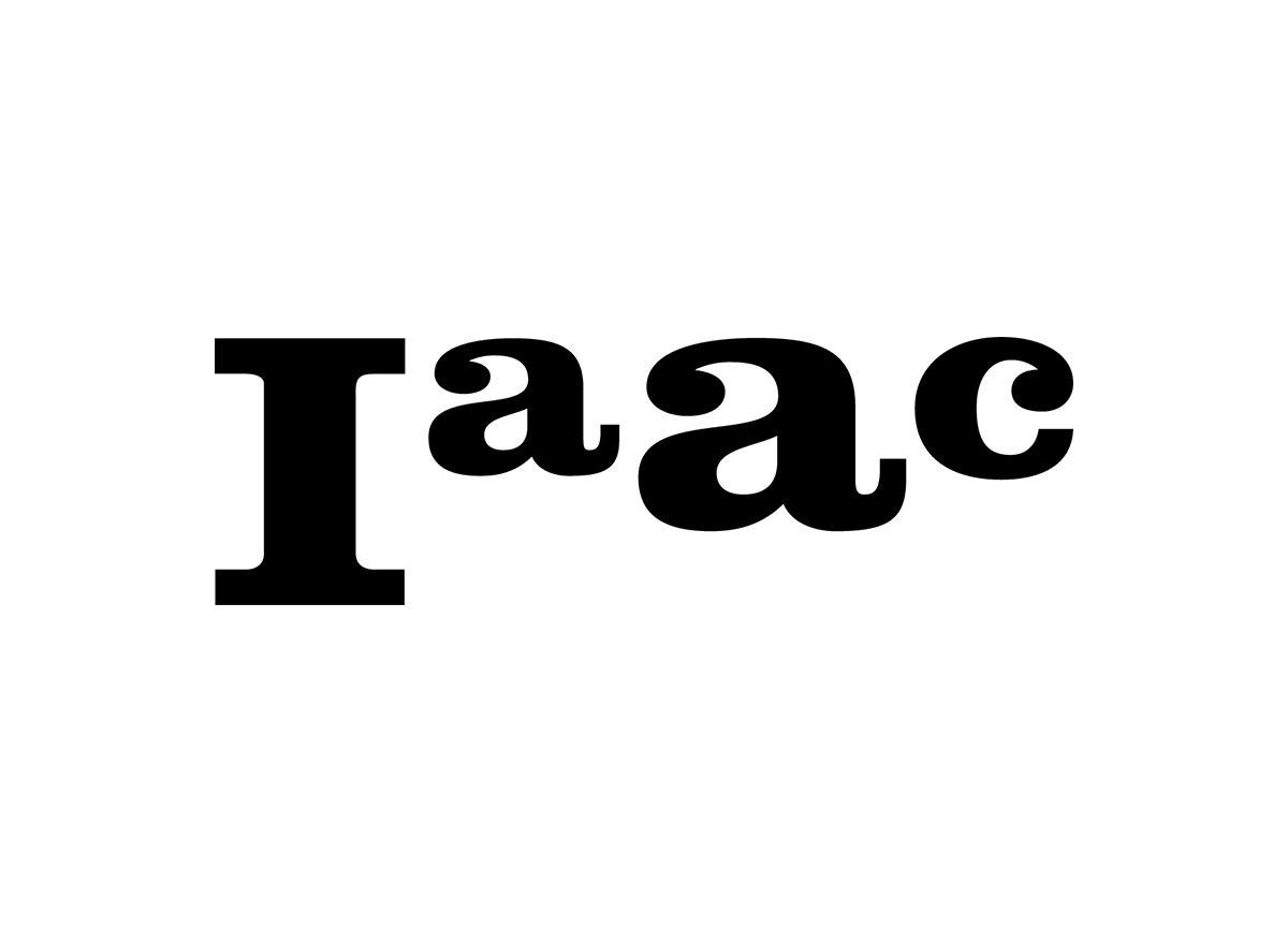 Logo del IAAC de Barcelona