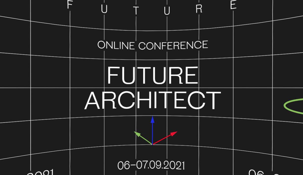 Cartel de la conferencia Future Architect
