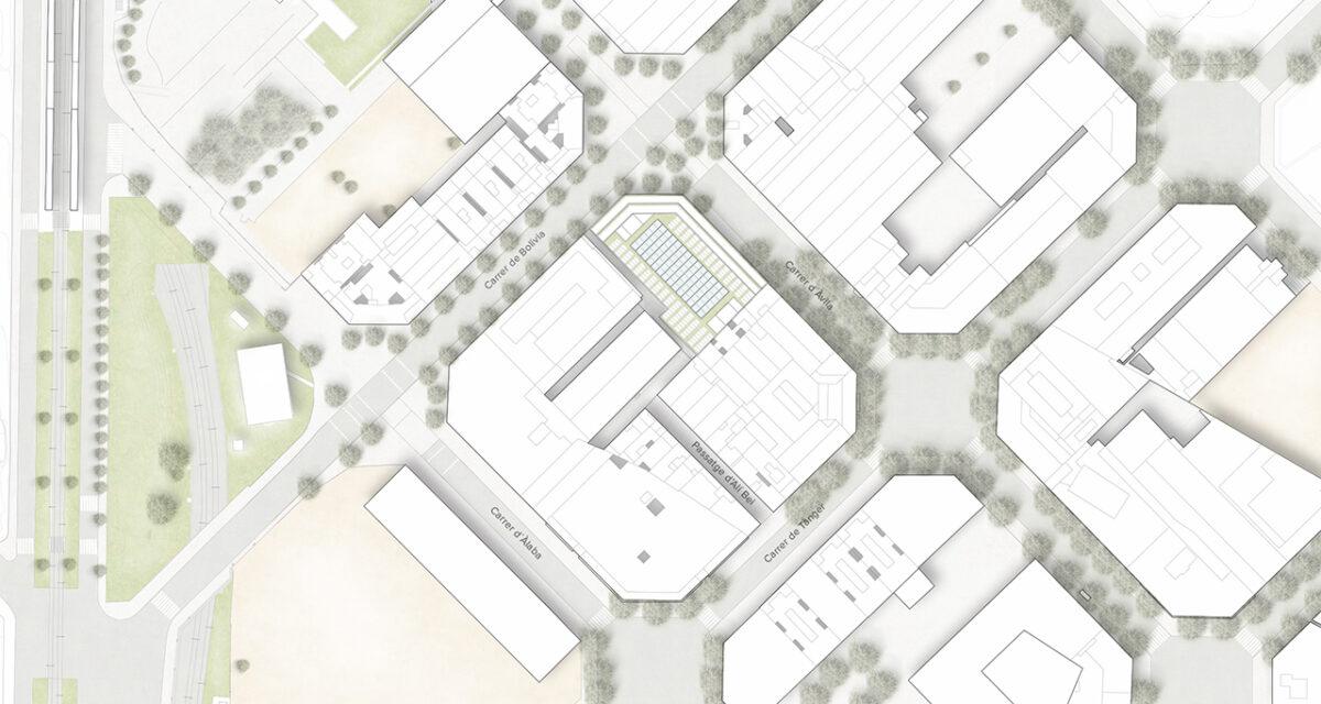 Mossos d'Esquadra Headquarters site plan